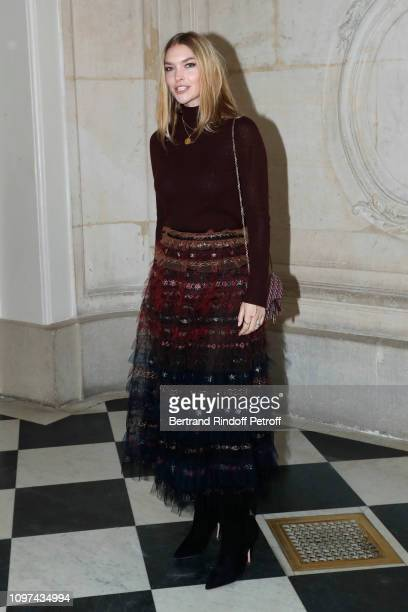 Model Arizona Muse attends the Christian Dior Haute Couture Spring Summer 2019 show as part of Paris Fashion Week on January 21 2019 in Paris France