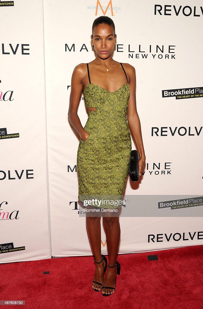Model Arlenis Sosa attends The Daily Front Row's Third Annual Fashion Media Awards at the Park Hyatt New York on September 10, 2015 in New York City.