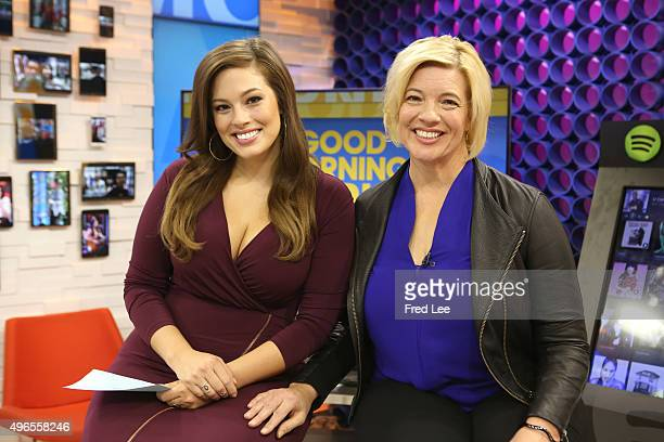 AMERICA Model Ashley Graham and her mother Linda Graham are guests on 'Good Morning America' 11/9/15 airing on the ABC Television Network