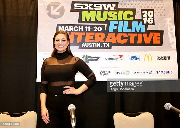 Model Ashley Graham attends 'Acceptance Revolution Fashion's New Body' during the 2016 SXSW Music Film Interactive Festival at Westin Austin Downtown...