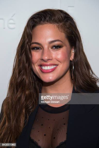 Model Ashley Graham attends ELLE E IMG host A Celebration of Personal Style NYFW Kickoff Party on September 6 2017 in New York City