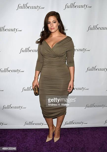 Model Ashley Graham attends FULLBEAUTY Brands' launch of fullbeauty.com and Fullbeauty Magazine on April 2, 2015 in New York City.