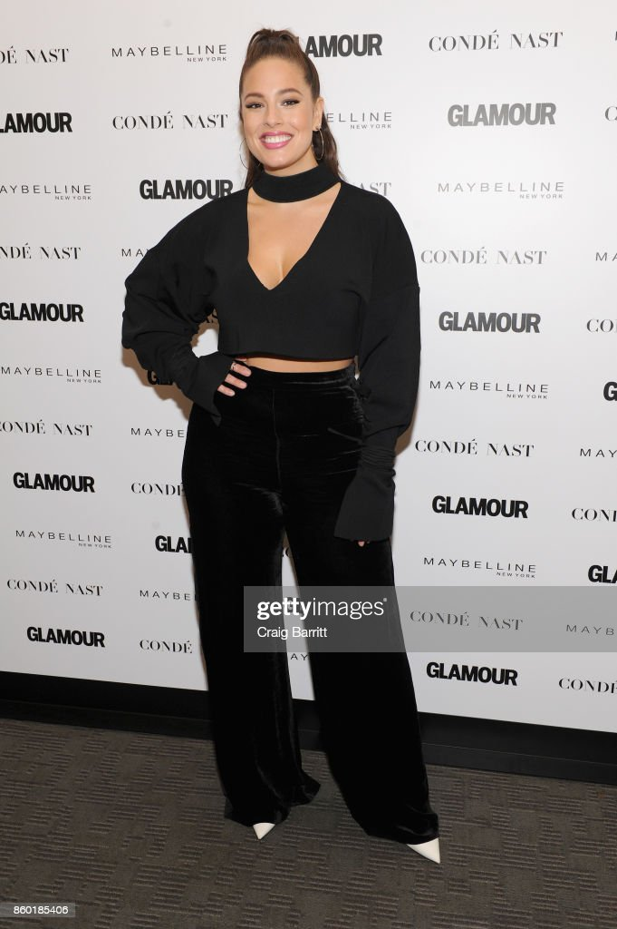 Model Ashley Graham attends Glamour's 'The Girl Project' on the International Day of the Girl on October 11, 2017 in New York City.