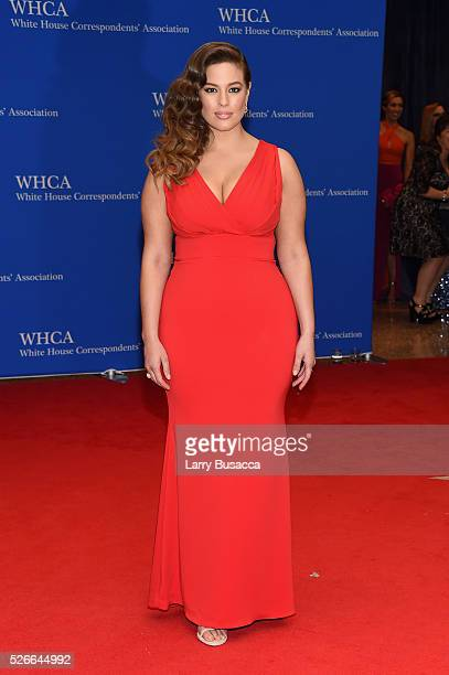 Model Ashley Graham attends the 102nd White House Correspondents' Association Dinner on April 30 2016 in Washington DC