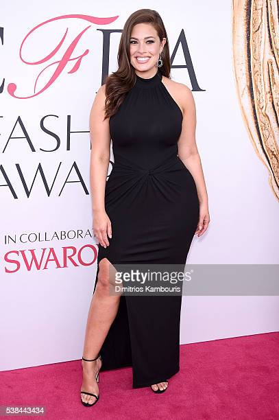 Model Ashley Graham attends the 2016 CFDA Fashion Awards at the Hammerstein Ballroom on June 6, 2016 in New York City.