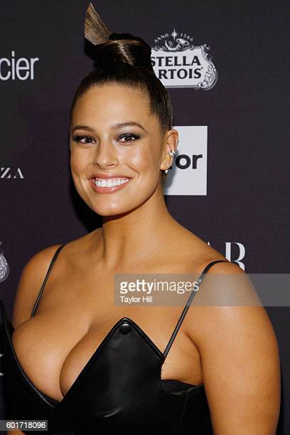 Model Ashley Graham attends the 2016 Harper ICONS Party at The Plaza Hotel on September 9 2016 in New York City