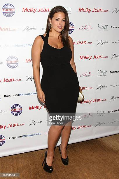 Model Ashley Graham attends the 3rd annual Geminis Give Back at 1OAK on June 13, 2010 in New York City.