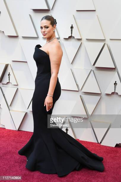 Model Ashley Graham attends the 91st Annual Academy Awards at Hollywood and Highland on February 24 2019 in Hollywood California