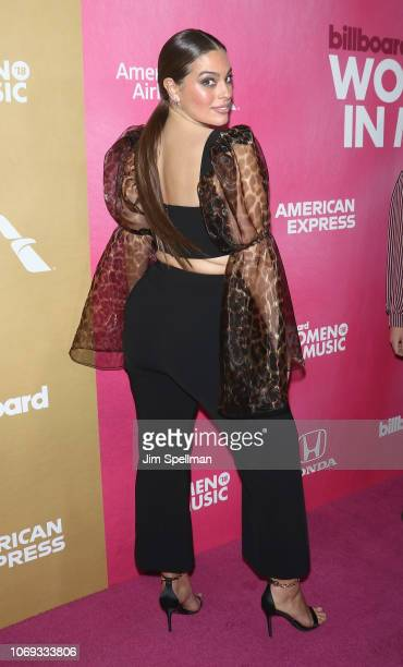 Model Ashley Graham attends the Billboard's 13th Annual Women in Music event at Pier 36 on December 6 2018 in New York City