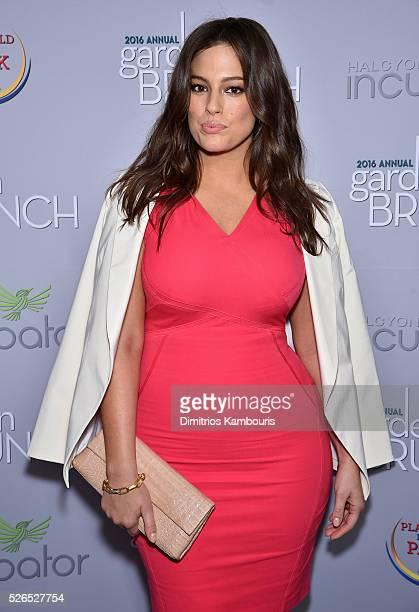 Model Ashley Graham attends the Garden Brunch prior to the 102nd White House Correspondents' Association Dinner at the BeallWashington House on April...