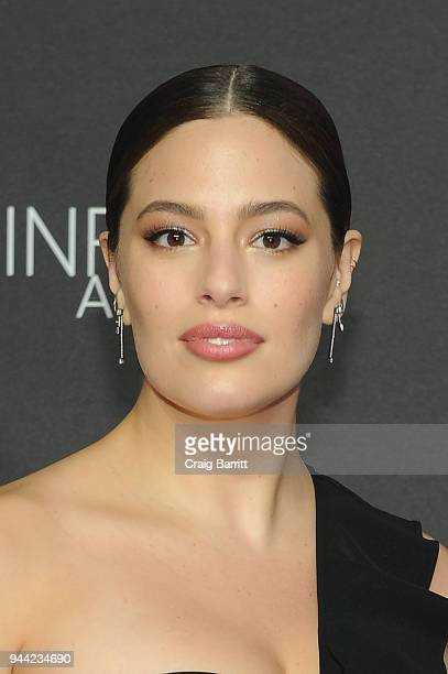 Model Ashley Graham attends the International Center Of Photography's 2018 Infinity Awards on April 9 2018 in New York City