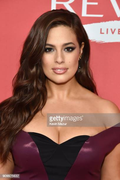 Model Ashley Graham attends the Revlon Live Boldly launch event at Skylight Modern on January 24 2018 in New York City
