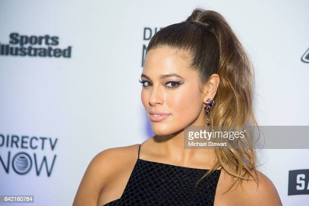 Model Ashley Graham attends the Sports Illustrated Swimsuit 2017 launch event at Center415 Event Space on February 16 2017 in New York City
