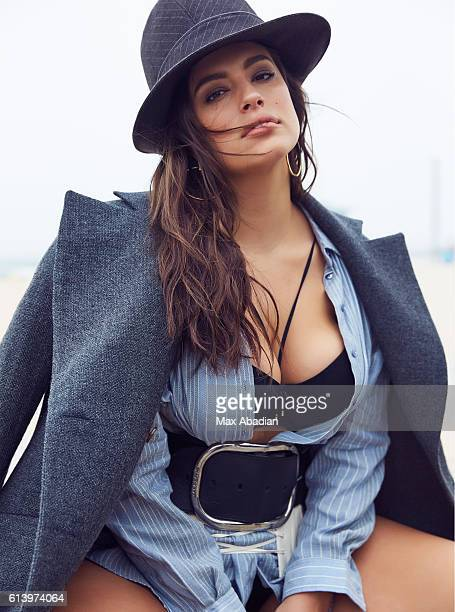 Model Ashley Graham is photographed for Elle Canada on June 5 2016 in Los Angeles California PUBLISHED IMAGE