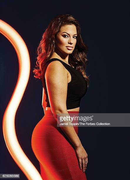 Model Ashley Graham is photographed for Forbes Magazine in December 2015 in New York City PUBLISHED IMAGE CREDIT MUST READ Jamel Toppin/The Forbes...