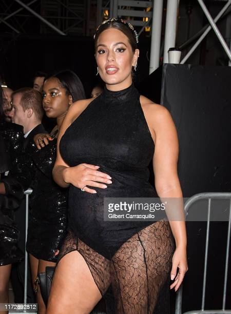 """Model Ashley Graham is seen arriving to Harper's BAZAAR Celebrates """"ICONS By Carine Roitfeld"""" At The Plaza Hotel Presented By Cartier on September..."""