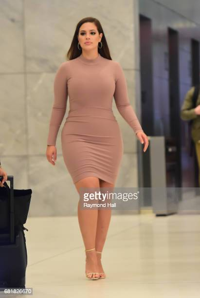 Model Ashley Graham is seen walking in Midtown on May 10 2017 in New York City