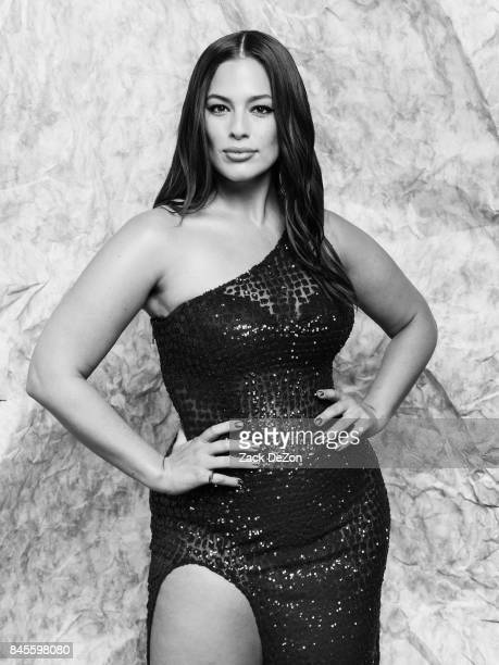Model Ashley Graham poses for a portrait during the Daily Front Row's Fashion Media Awards at Four Seasons Hotel New York Downtown on September 8,...