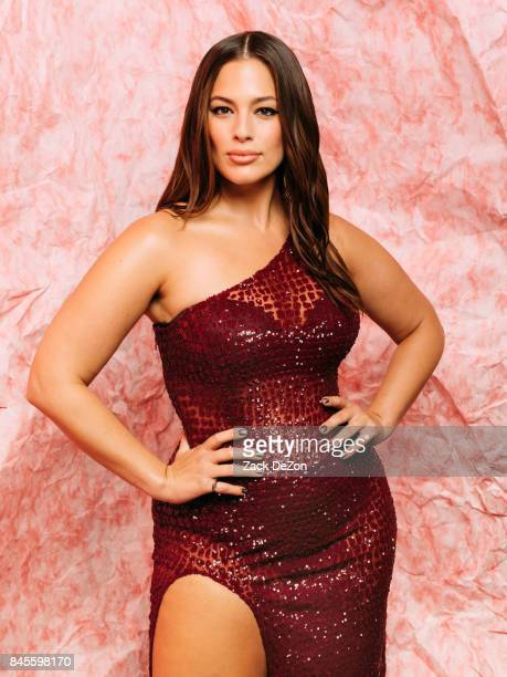 Model Ashley Graham poses for a portrait during the Daily Front Row's Fashion Media Awards at Four Seasons Hotel New York Downtown on September 8...