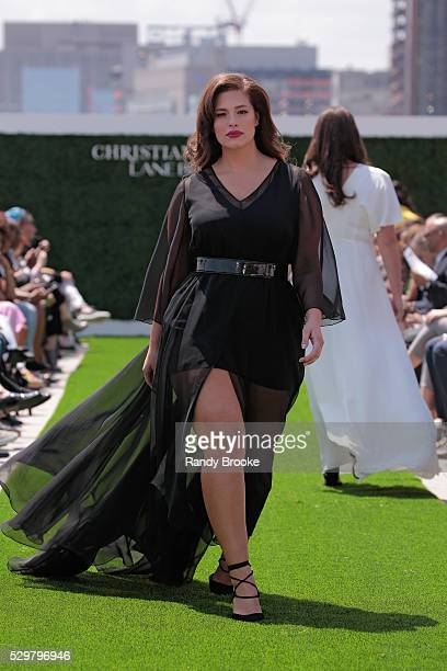 Model Ashley Graham walks the runway during the Christian Siriano x Lane Bryant Runway Show at United Nations on May 9 2016 in New York City