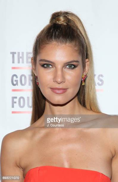 Model Ashley Haas attends the 2017 Gordon Parks Foundation Awards Gala at Cipriani 42nd Street on June 6 2017 in New York City