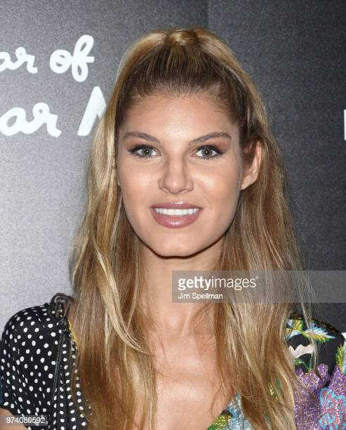 Model Ashley Haas attends the screening of 'The Year Of Spectacular Men' hosted by MarVista Entertainment and Parkside Pictures with The Cinema...