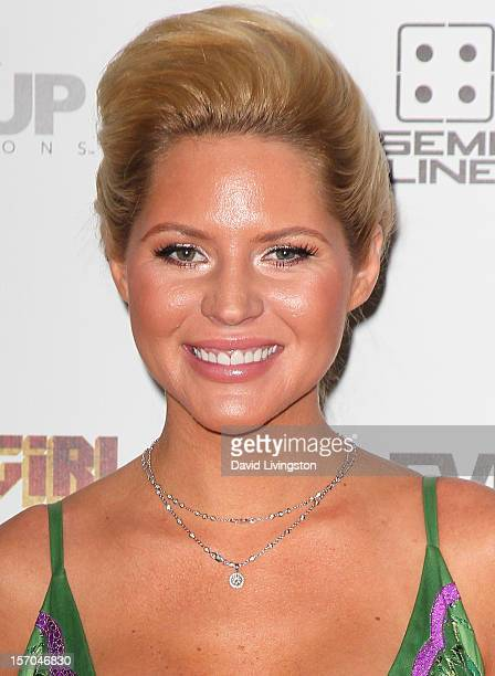"Model Ashley Mattingly attends the premiere of ""Sushi Girl"" at Grauman's Chinese Theatre on November 27, 2012 in Hollywood, California."