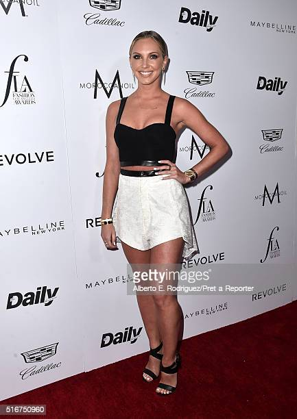 """Model Ashley Michaelsen attends the Daily Front Row """"Fashion Los Angeles Awards"""" at Sunset Tower Hotel on March 20, 2016 in West Hollywood,..."""
