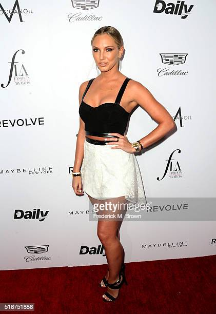 Model Ashley Michaelsen attends the Daily Front Row Fashion Los Angeles Awards at Sunset Tower Hotel on March 20 2016 in West Hollywood California