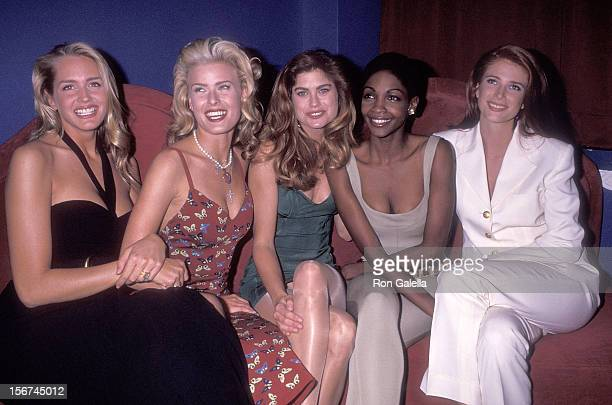 Model Ashley Montana model Vendela model Kathy Ireland model Roshumba Williams and model Angie Everhart attend the Party to Celebrate the 29th...