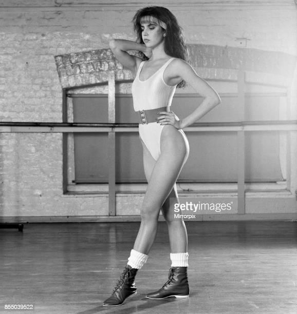 Model at Pineapple Studios 30th December 1987