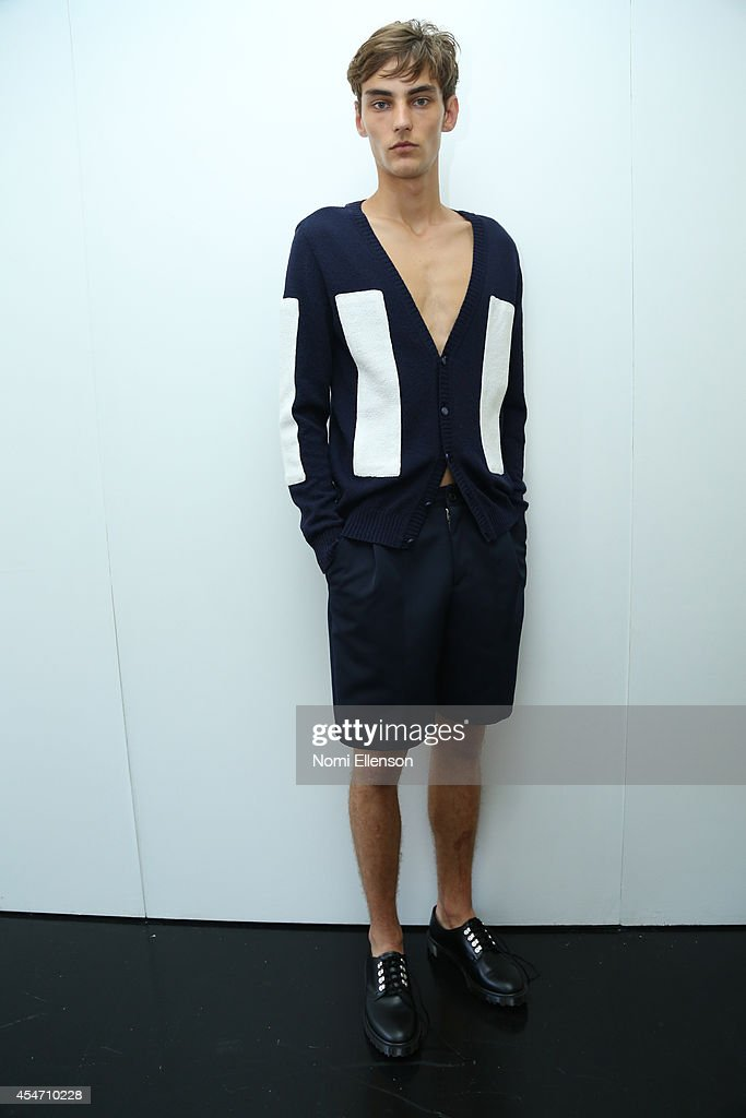 General Idea - Presentation - Mercedes-Benz Fashion Week Spring 2015 : News Photo