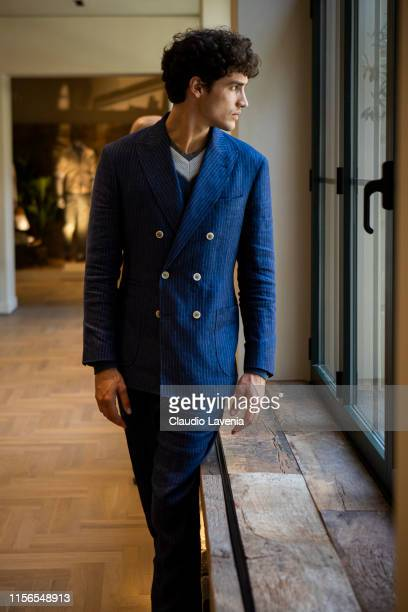 A model attends Brunello Cucinelli Presentation Milan Men's Fashion Week Spring/Summer 2020 on June 15 2019 in Milan Italy