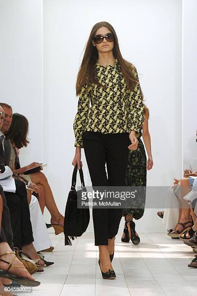 Model attends Gucci Cruise 2007 Fashion Show at The Penthouse at Milk Studios on June 14 2006 in New York City