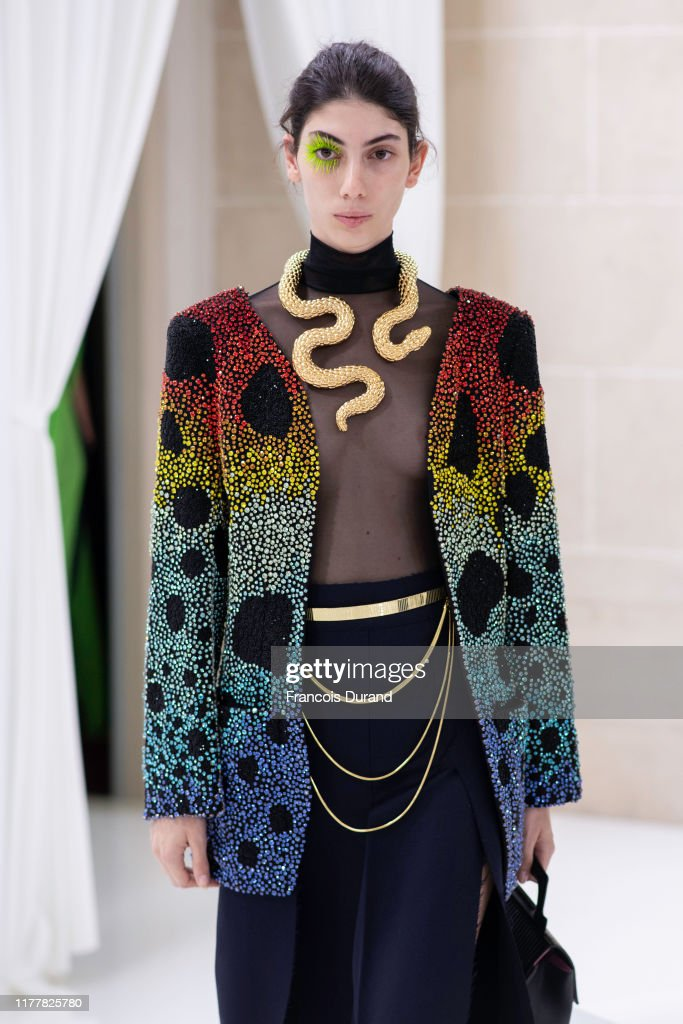 Schiaparelli Presentation  - Paris Fashion Week - Womenswear Spring Summer 2020 : News Photo