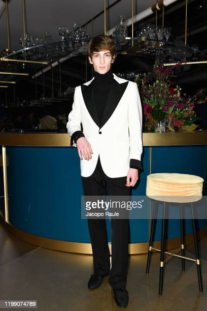 Model attends the Tod's presentation during the Milan Men's Fashion Week on January 12, 2020 in Milan, Italy.