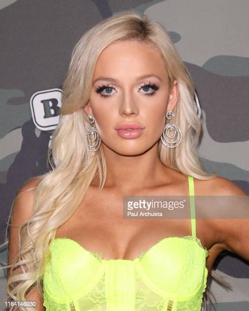 Model Audra Hanson attends the 4th Annual Babes In Toyland Support Our Troops charity event at The Academy LA on July 24 2019 in Los Angeles...