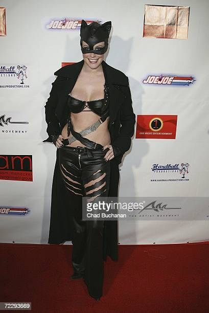 Model Audra Lynn attends Dave Navarro's Halloween Lingerie And Costume Ball at The Highlands on October 28 2006 in Hollywood California