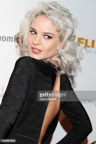 Model Ava Capra attends the 2017 Entrepreneur Awards at Allure Events And Catering on February 22 2017 in Van Nuys California