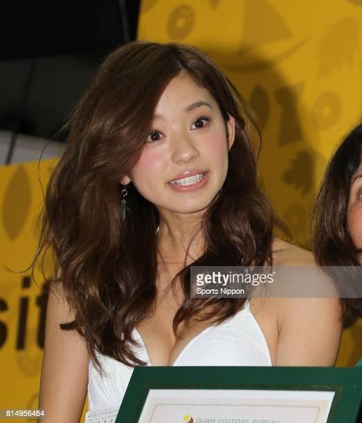 Model Aya Asahina attends Tourism Expo Japan 2015 at Tokyo Big Sight on September 27 2015 in Tokyo Japan