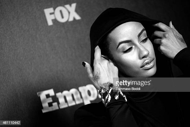 Model AzMarie Livingston attends the red carpet premiere of Empire held at ArcLight Cinemas Cinerama Dome on January 6 2015 in Hollywood California