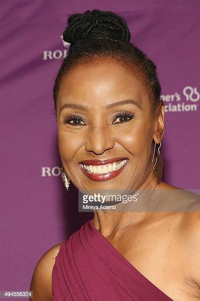 Model B Smith attends the Alzheimer's Association 32nd Annual Rita Hayworth Gala at Cipriani 42nd Street on October 27 2015 in New York City