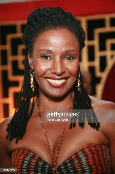 Model B Smith attends the Bay Street Theatre Summer Gala Benefit at the Harding Farm July 21 2007 in Bridgehampton New York