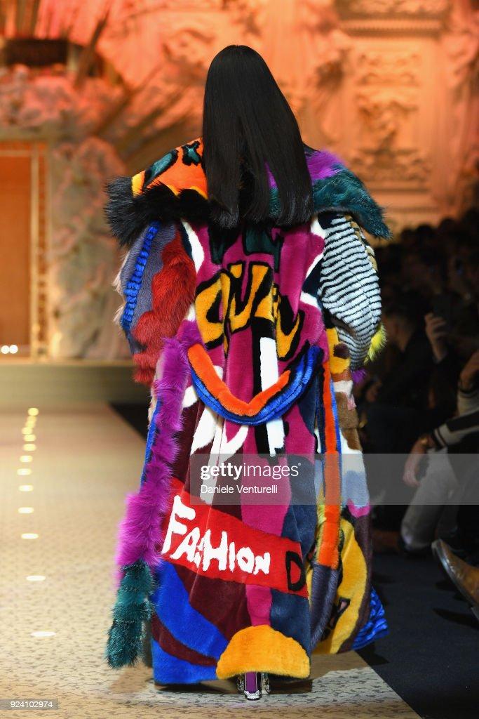 Dolce & Gabbana - Runway - Milan Fashion Week Fall/Winter 2018/19 : News Photo