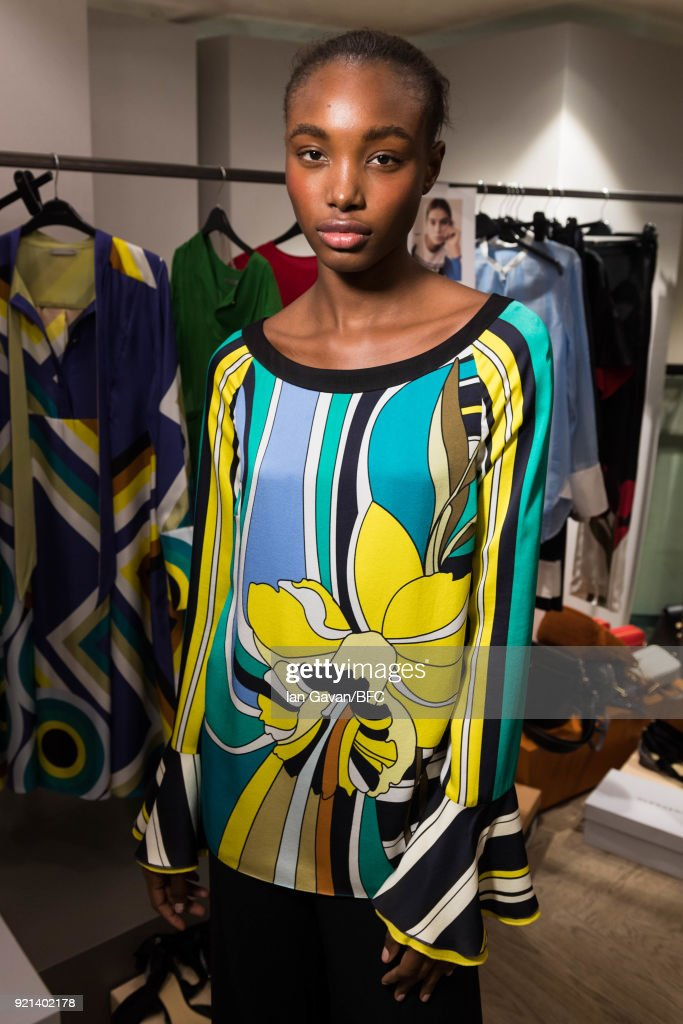 A by Jigsaw Presentation - Backstage - LFW February 2018