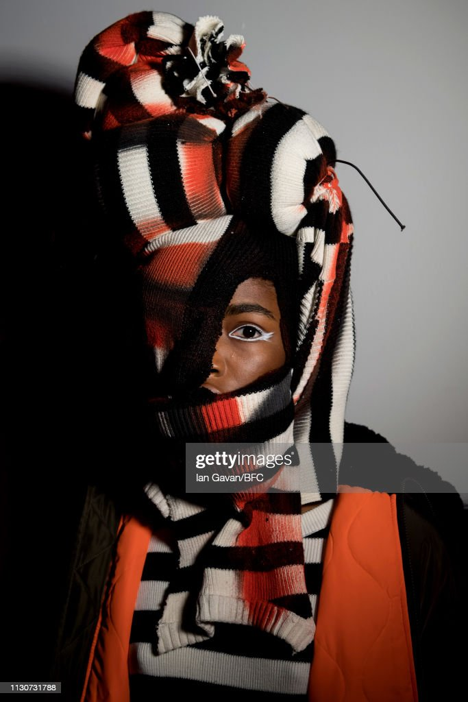 GBR: Izzue - Backstage - LFW February 2019