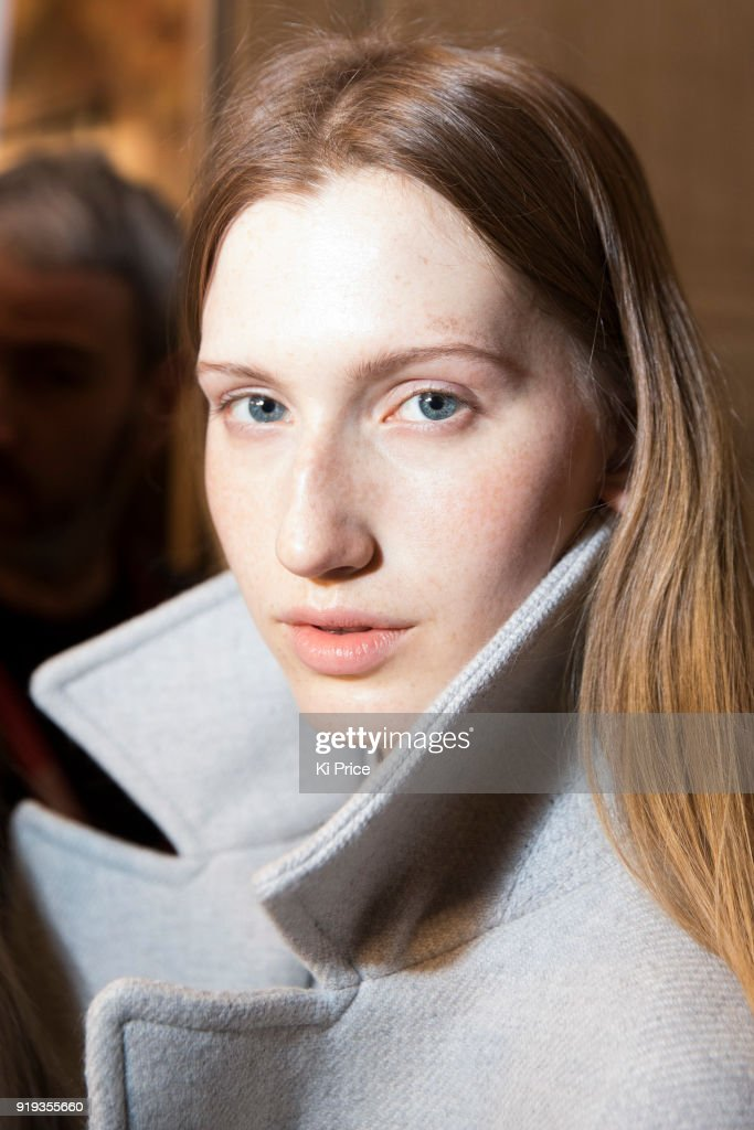 Jasper Conran - Backstage - LFW February 2018