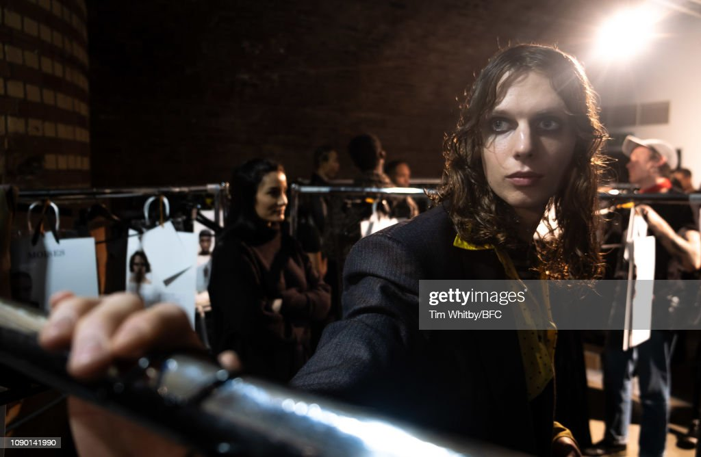 John Lawrence Sullivan - Backstage - LFWM January 2019 : ニュース写真