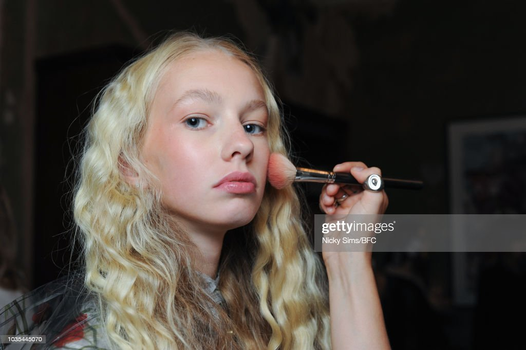Malene Oddershede Bach - Backstage - LFW September 2018