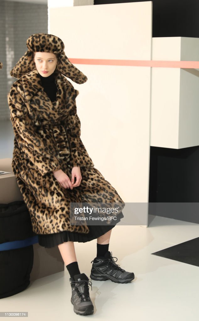 GBR: Markus Lupfer - Backstage - LFW February 2019